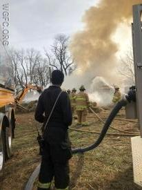 WGFC units fought a hay bale fire in London Grove Township for several hours, assisted by fire companies from Cochranville and Avondale.