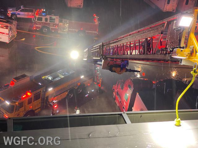 WGFC assisted Elkton on a truck fire at a large warehouse in Cecil County early Friday morning.